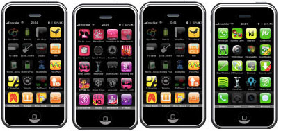 iPhone fonts