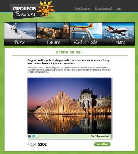Groupon viaggi e hotel