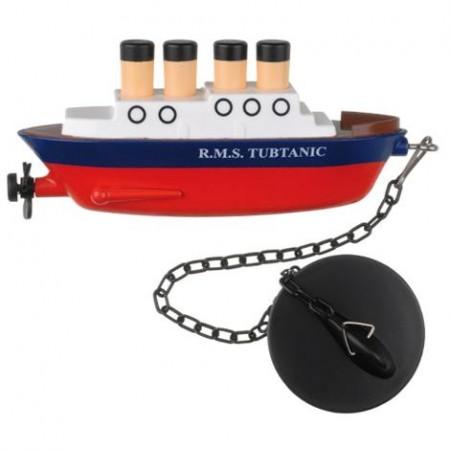 tappo lavandino a forma di titanic