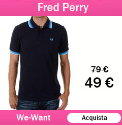 fred perry polo scontate