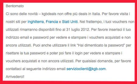 kgb deals italia
