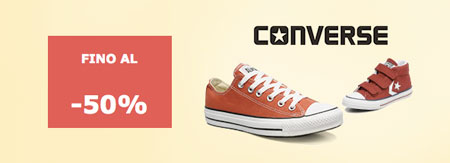 converse all star scontate