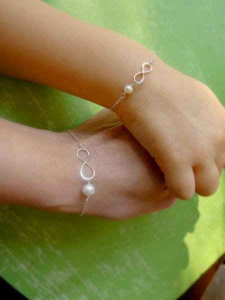 braccialetto mamma e figlia