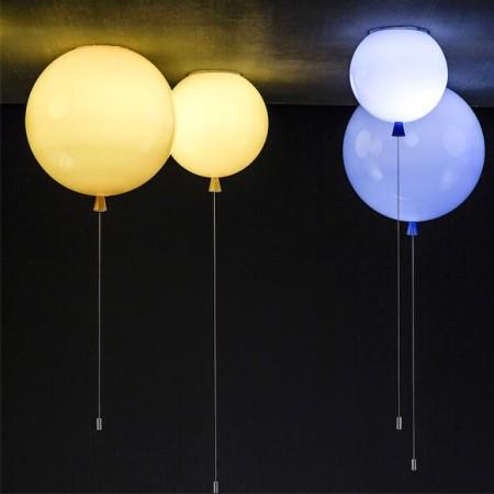 lampade palle in vetro soffiato